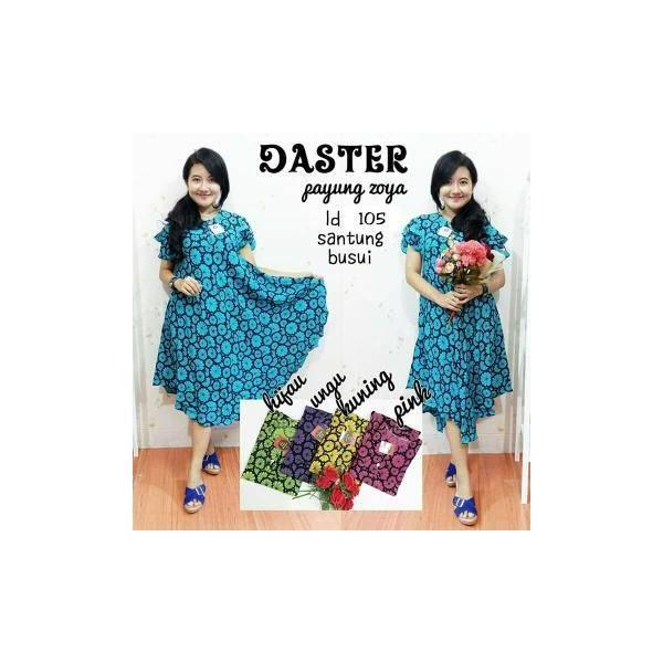 Promo Hanya Hari Ini Daster Payung Batik Pekalongan/Daster Hamil Zoya/Baju Menyusui