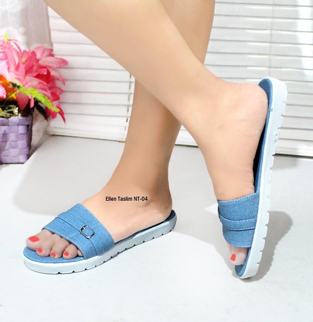 Promo Produk Terlaris Harga Termurah - Ellen Taslim Sandal Flat NT-04