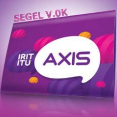 (HARGA PROMO) 1 box = 50pcs / Grosir Kartu Perdana Axis Super Murah Meriah