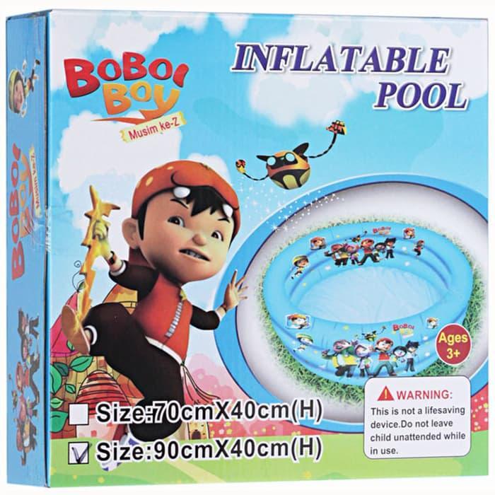 Kolam Renang Bermain Anak - Pool Boboi Boy By Libra Toys Kingdom.