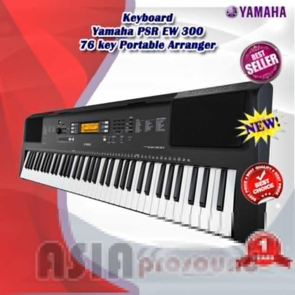Keyboard Yamaha PSR EW 300 - EW300 - EW-300 76 key Portable Arranger