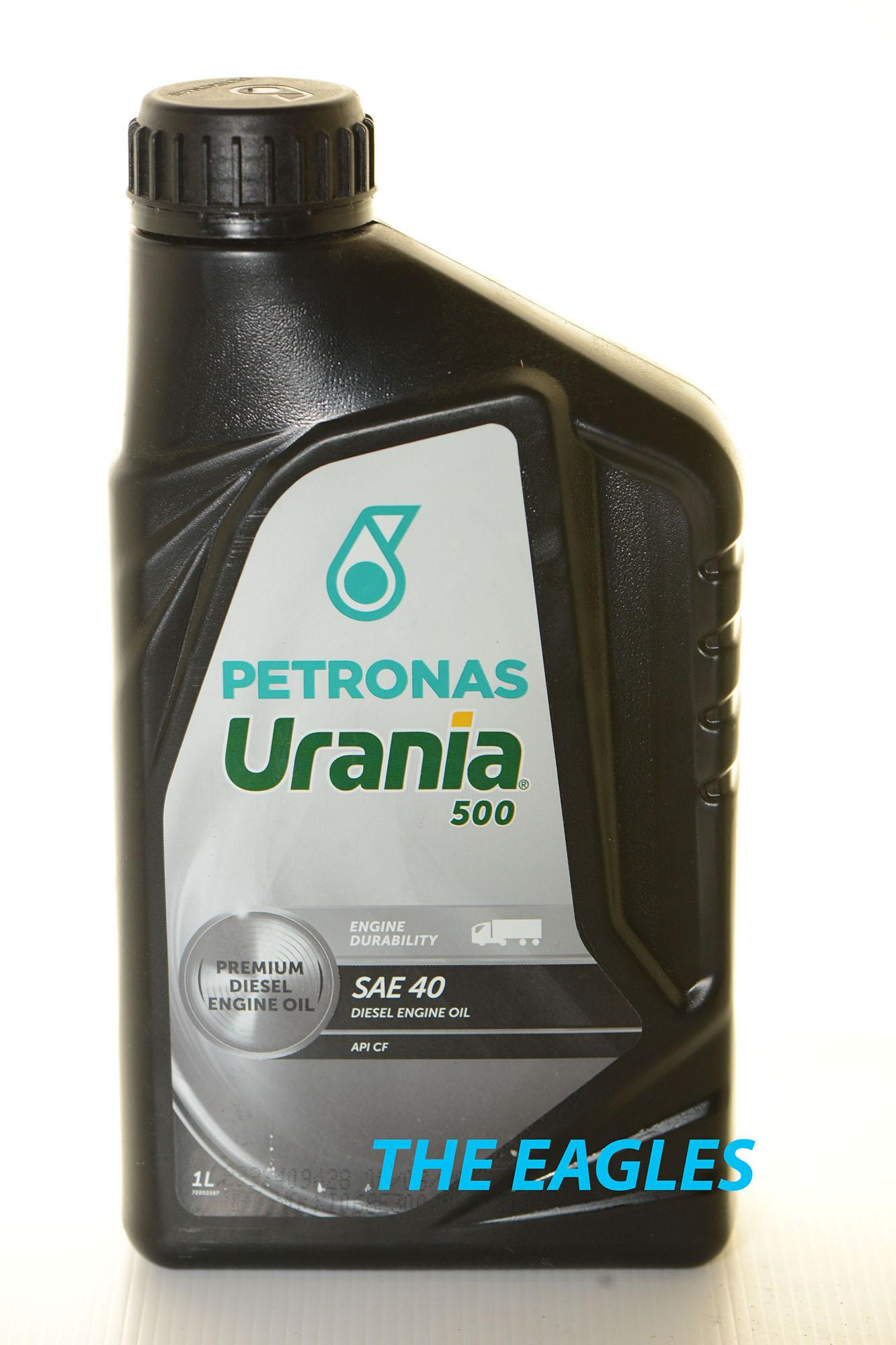Oli Oil Petronas Urania 500 SAE 40 Mesin Diesel API CF Minyak Lubrikasi Lubricant Mobil Solar