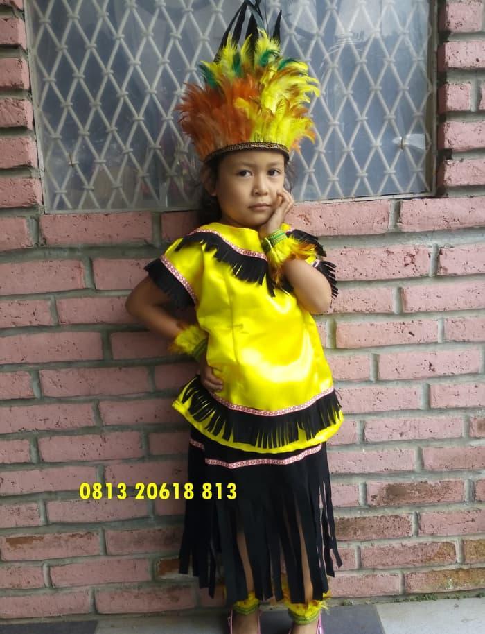 Terbaru! Papua Tk | Baju Adat Karnaval Kostum Anak Pria Daerah - ready stock