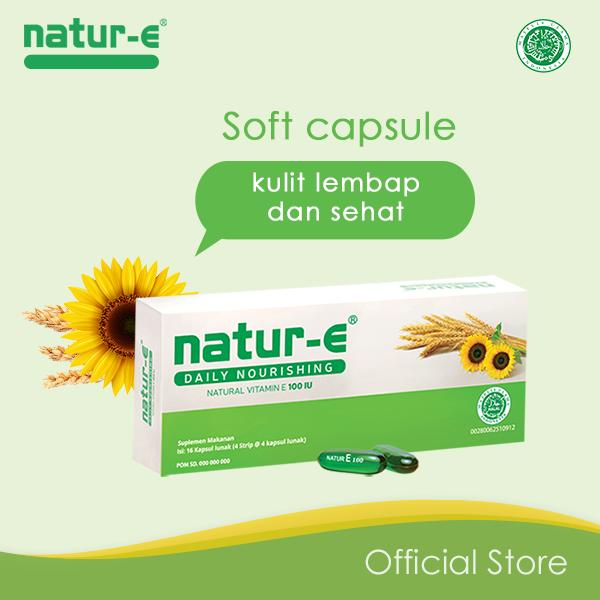 Natur-E 100 Iu Soft Capsule 16s By Natur-E Official Store.