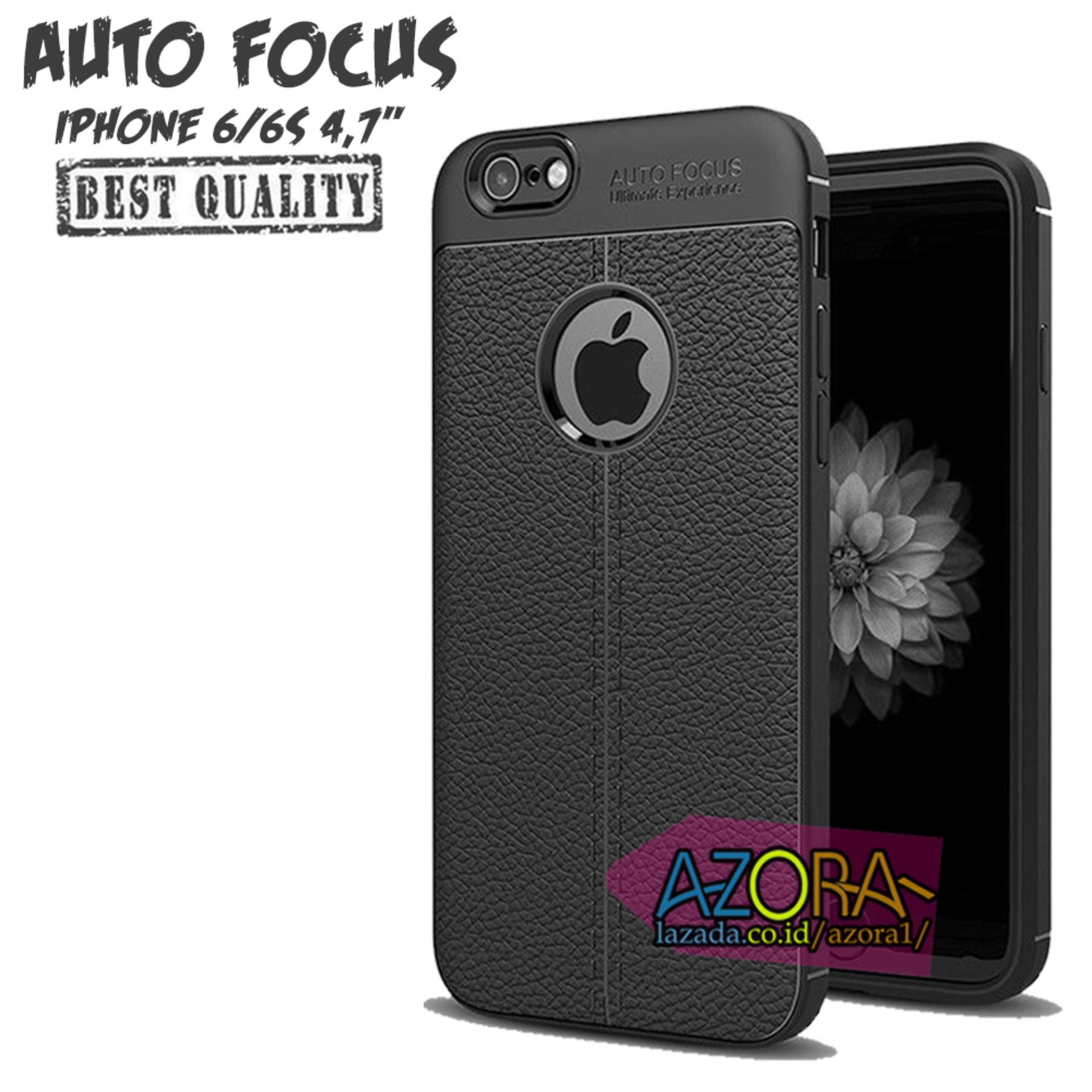 Case Auto Focus Iphone 6 / 6S ( 4.7 Inch ) Dual Camera Leather Experience Slim Ultimate