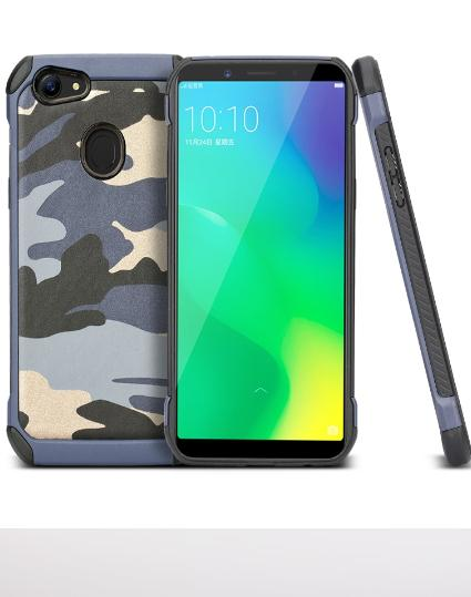 Mouzel Softcase Case Army For Oppo F5