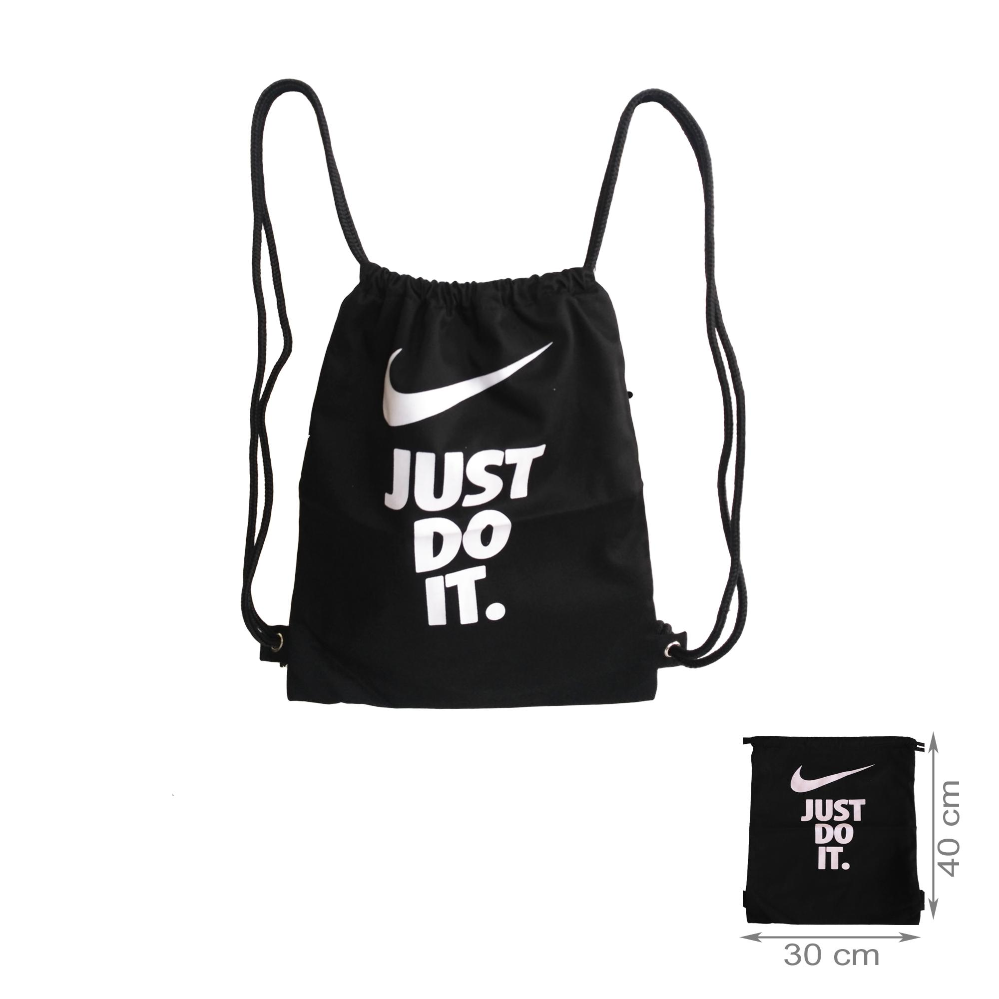 tas ransel stringbag / string bag / tas serut - just do it