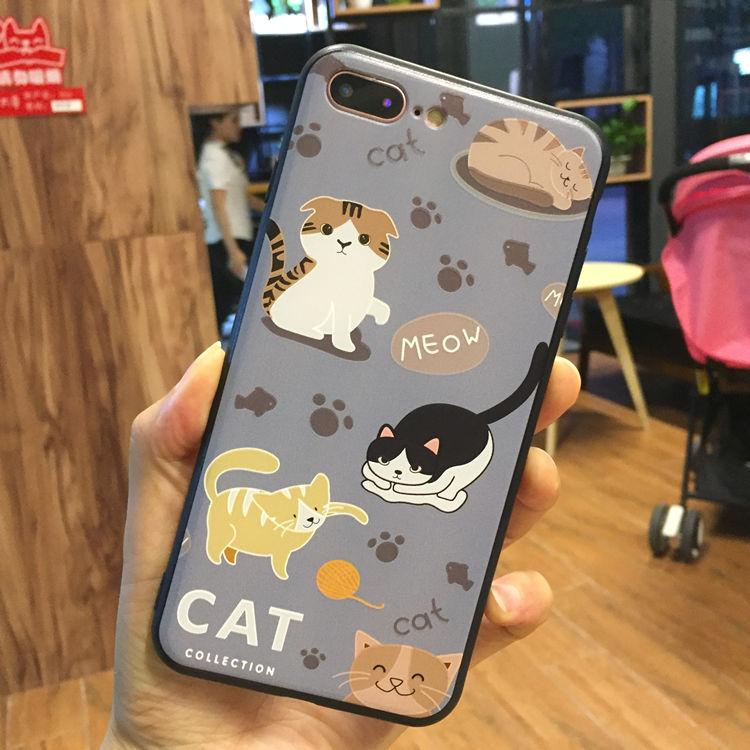 Casing HP 7 Plus/IPhone6 Silikon Silikon Korea Selatan Dan Korea Selatan Apple ID Bungkus Penuh