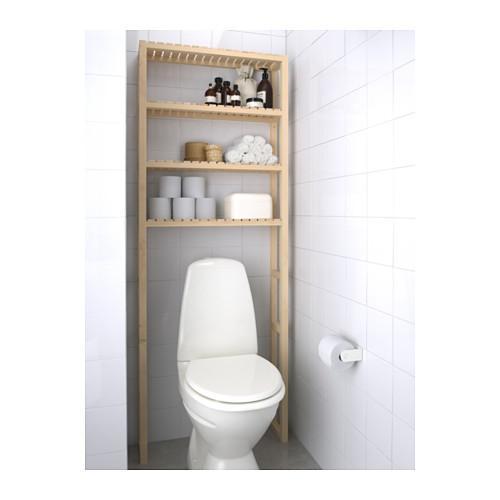 PROMO!! IKEA MOLGER Rak Penyimpanan Kamar Mamdi, kayu birch MURAH /  BUBBLE 3 LAPIS / ORIGINAL / IKEA ORIGINAL