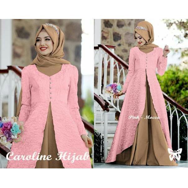 ... FJCO Caroline Maxi Dress Fashion wanita Fashion Muslimah Hijab Style