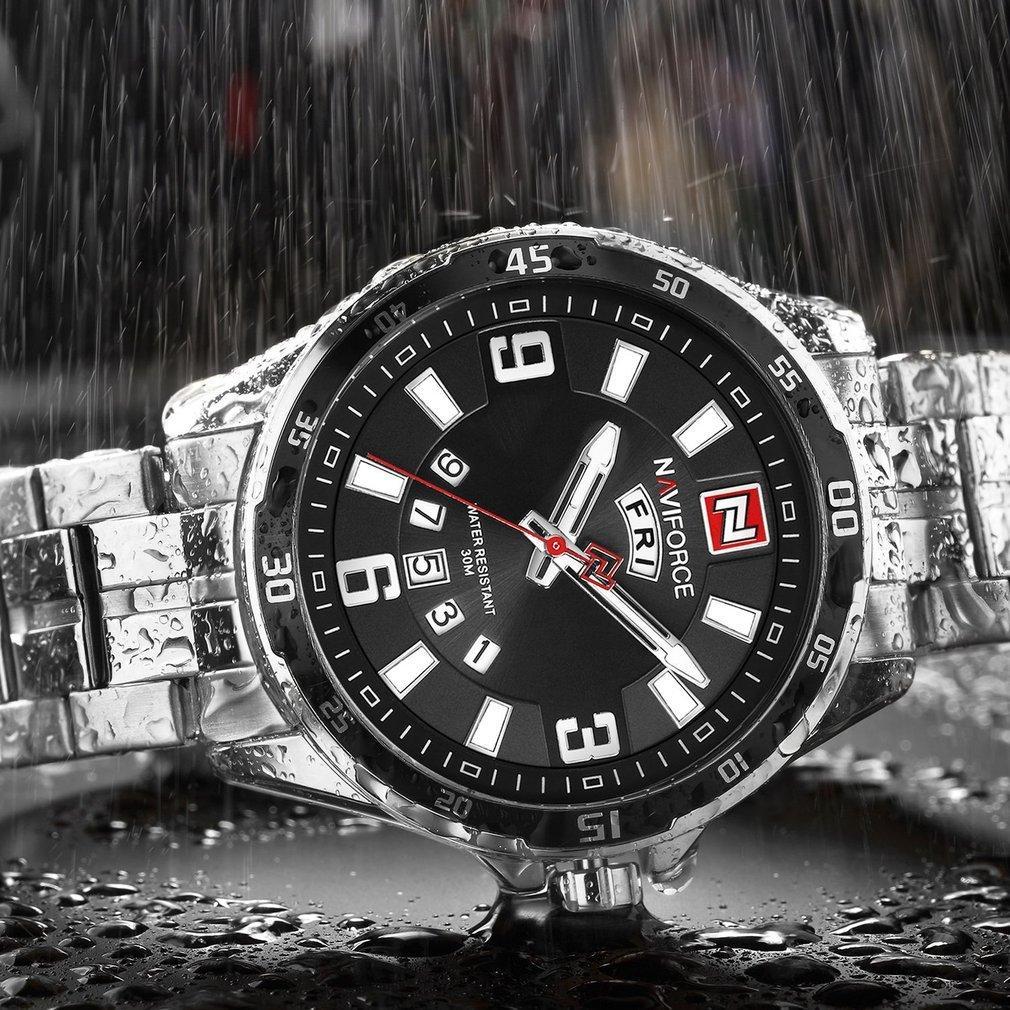 Buy Sell Cheapest Merek Watch 9106 Best Quality Product Deals Jam Tangan Pria Skmei Original Water Resistant Black Red Naviforce Waterproof Wrist Calendar Needle Quartz Movement