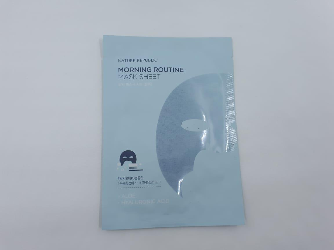 Buy Sell Cheapest Masker Nature Republic Best Quality Product Morning Routine Mask Sheet 100 Original