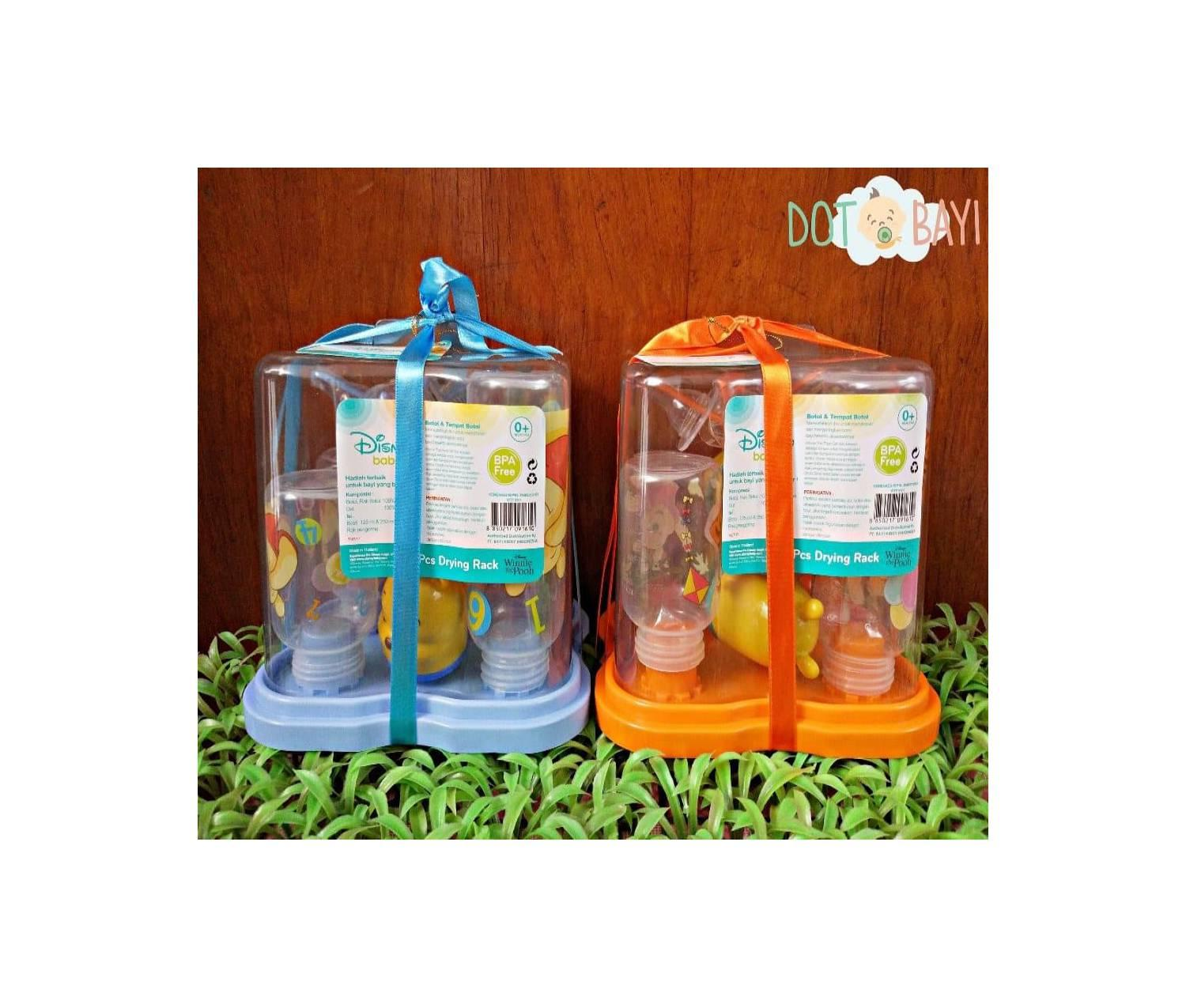 Buy Sell Cheapest Special Baby Set Best Quality Product Deals Mitu Pack Biru Mtb010 Gift Botol Disney Winnie The Pooh 4btls Drying R