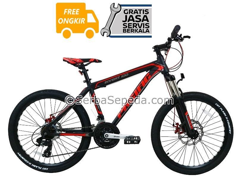 Pacific Sepeda Gunung MTB Invert 100 24″ - GRATIS ONGKIR & PERAKITAN  KHUSUS JABODETABEK