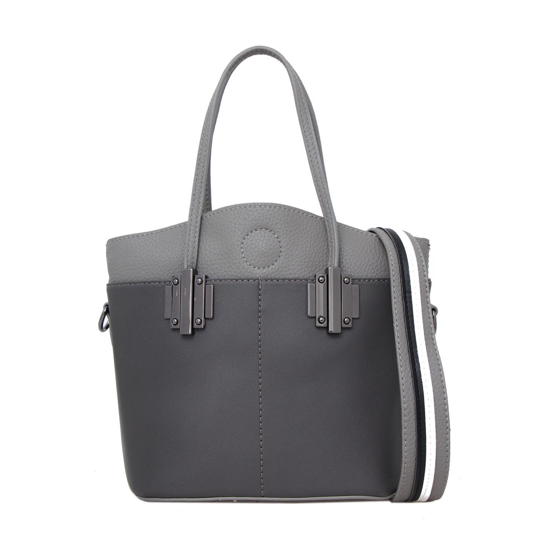 Tas Wanita Lorica by Elizabeth Juliska Tote Bag Grey