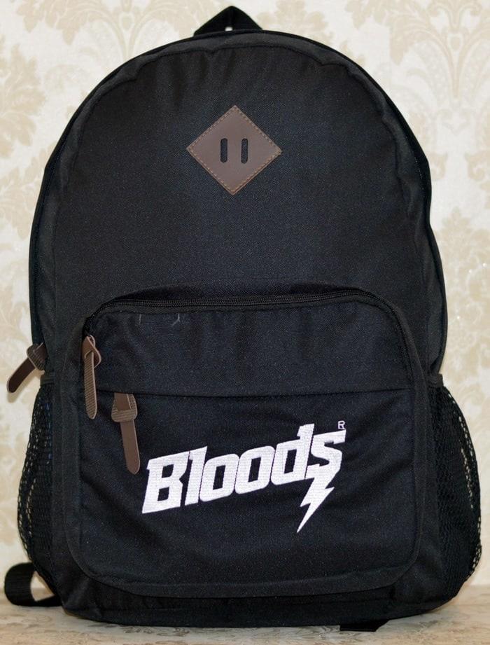 PROMO!!! Tas Ransel Original BLOODS Kuliah Sekolah free Raincover - rjSnfx