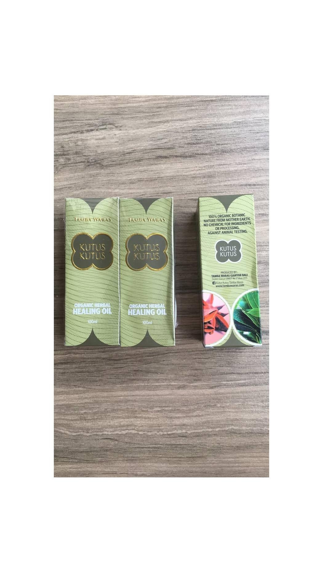 minyak kutus kutus/ herbal produksi tamba waras gianyar bali