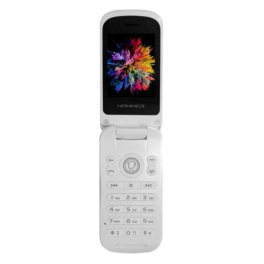 Advan Hammer R3F Handphone - White