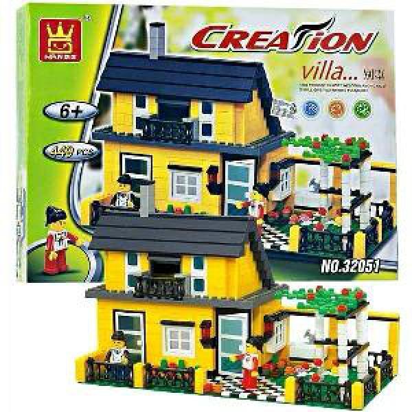 LEGO   WANGE CREATION VILLA 449 PCS SERI 32051