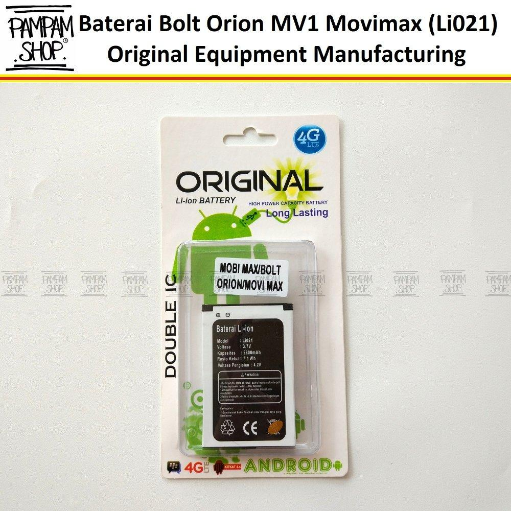 Baterai Modem Bolt Orion Movimax MV 1 MV1 MV01 Li021 Original OEM | Battery Batrai Batre