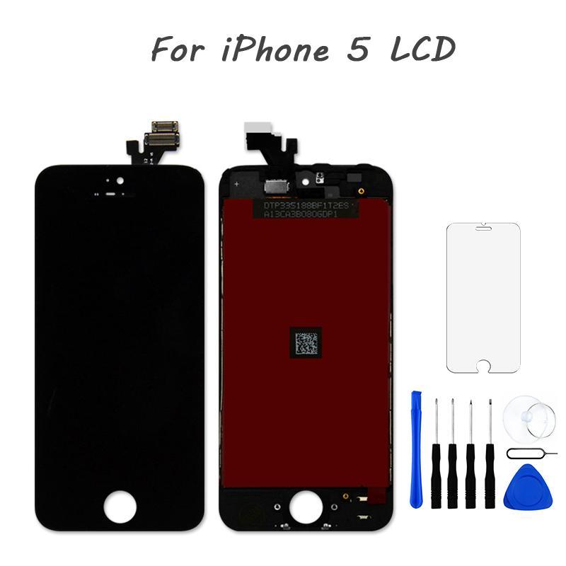 Untuk iPhone 5 Layar LCD Layar Sentuh Digitizer
