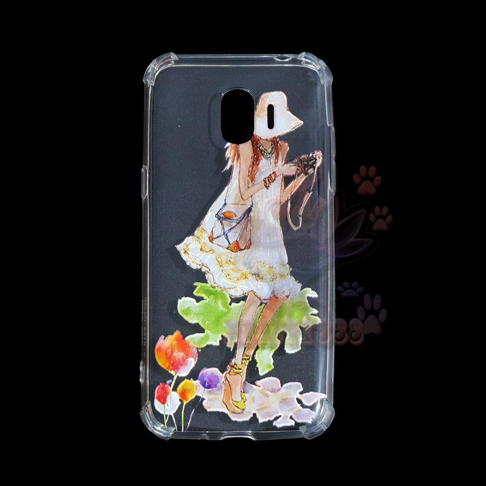 Beauty Case Anti Crack Samsung Galaxy J2 Pro 2018 Case 3D Luxury Animasi Softcase Anti Jamur Air Case 0.3mm / Silicone Samsung J2 Pro 2018 / Silikon Anti ...
