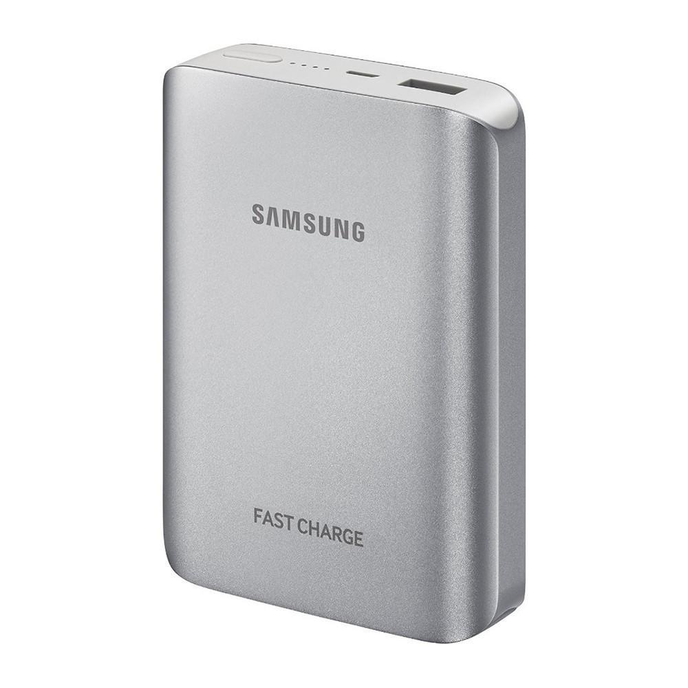 Samsung Original Power Bank 10200 mah Faster Charging - Silver