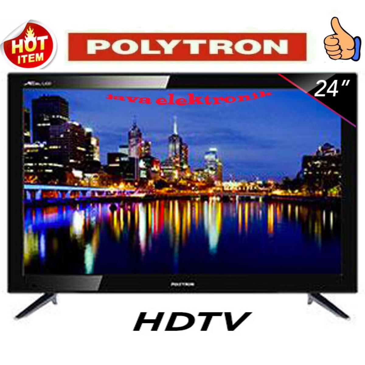POLYTRON LED TV 24 Inch HD - PLD24D8511 garansi resmi