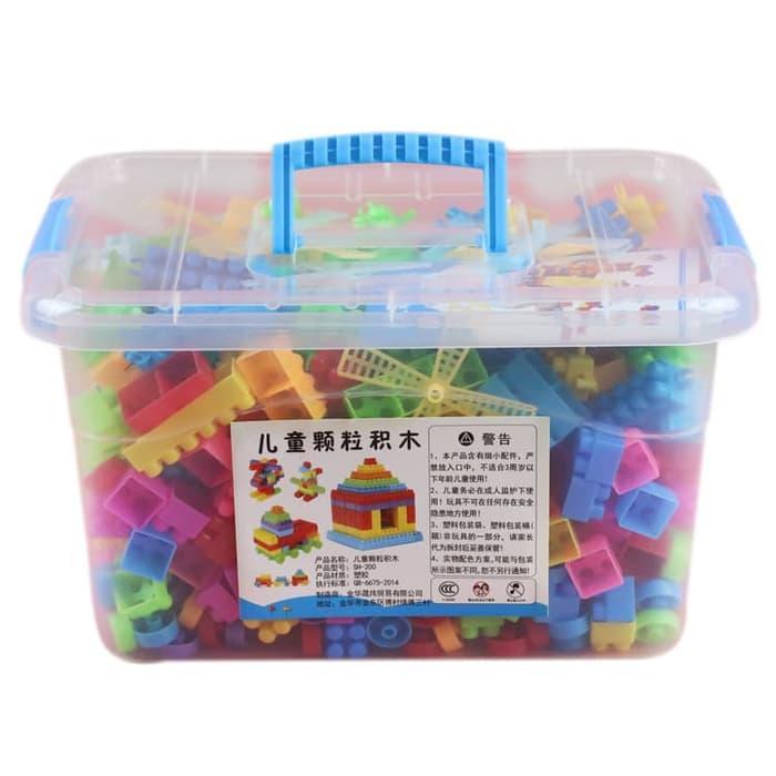 Lego Block 110pcs Container Mainan Edukasi Balok Anak a08c924632