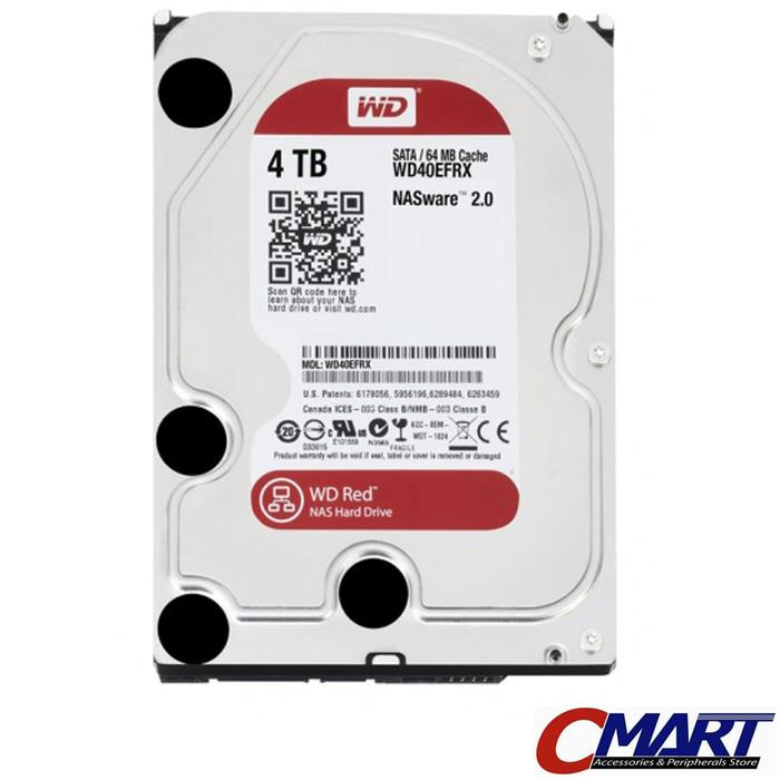ORIGINAL - WD Caviar Red 4TB 3.5