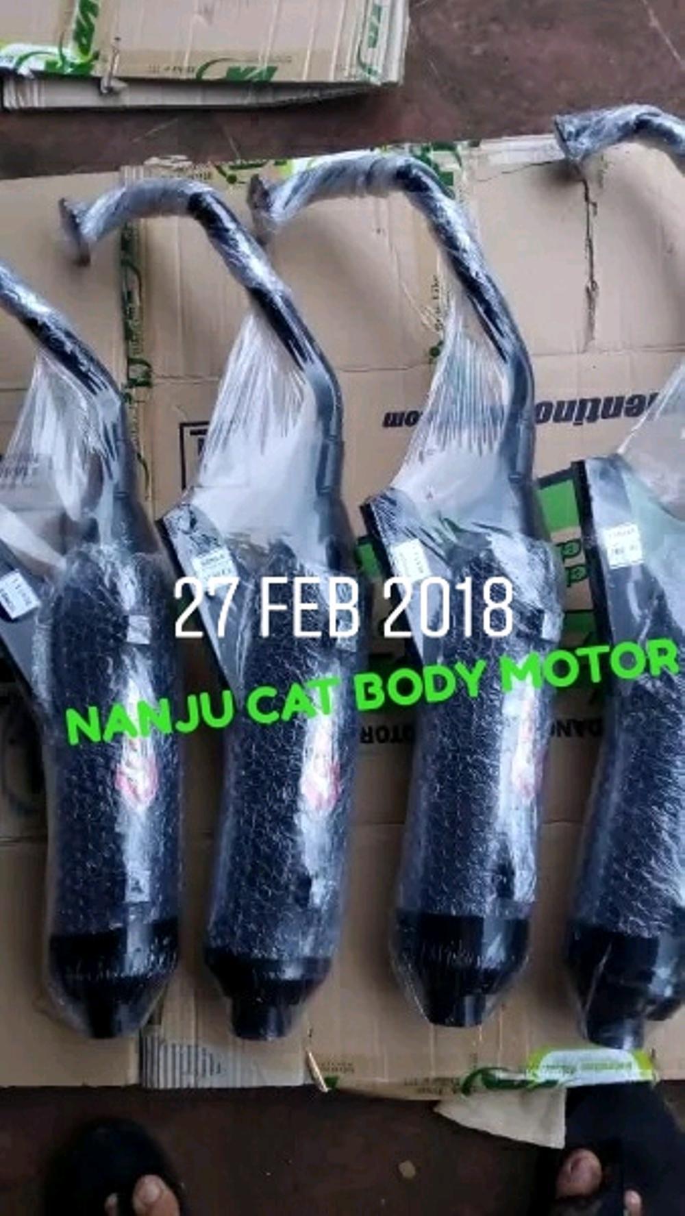 Knalpot Bobokan Merk Csr Untuk Motor Mio Lama Mio Sporty Beat Lama Beat Fi New Scoopy Scoopy-FI