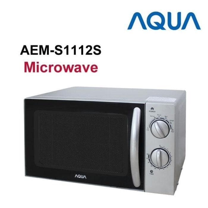 AQUA SANYO Microwave 17 Liter Low Watt 400 Watt Ekonomis AEMS1112S