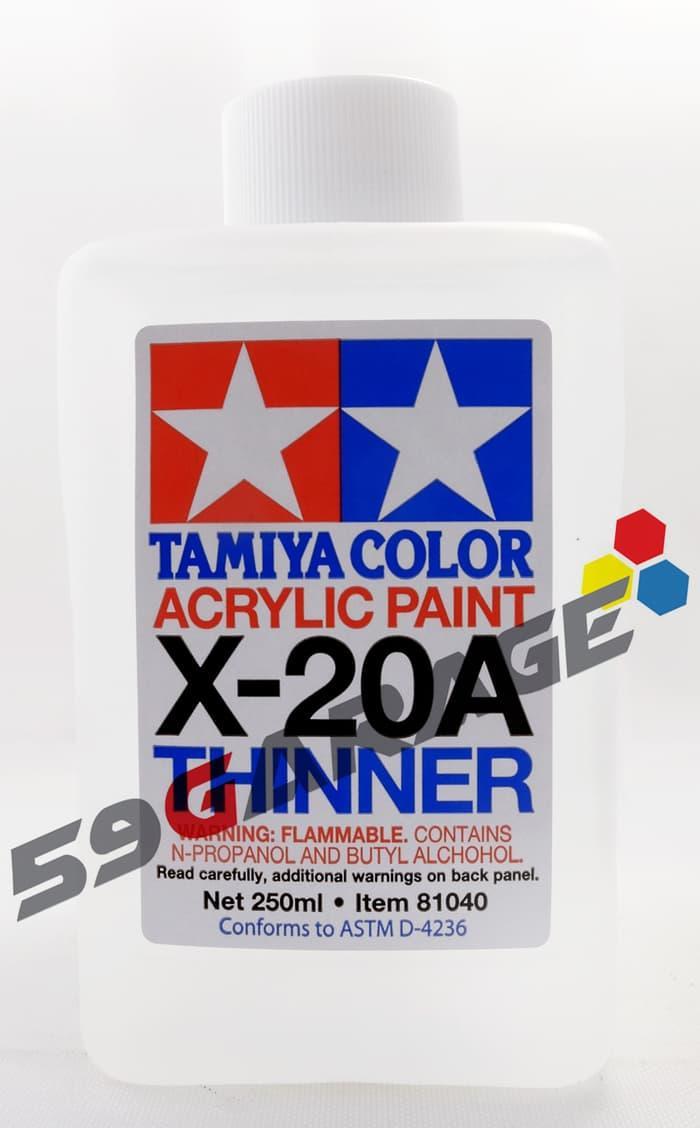 Promo Tamiya Acrylic Thinner 250ml - Model Kit Gundam original