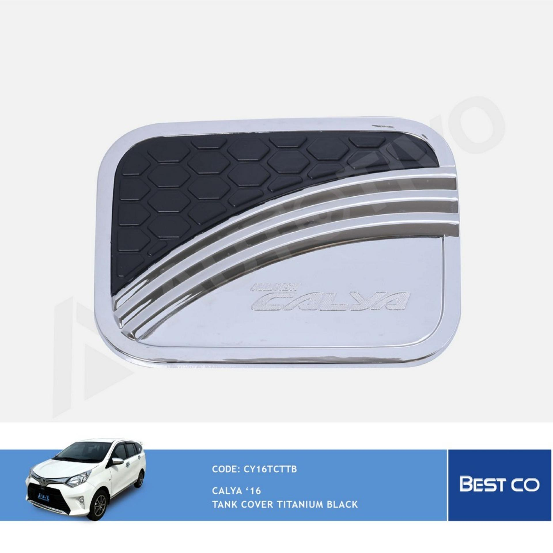 Toyota Calya Tutup Tangki Bensin Cover Bensin Titanium Hitam JSL