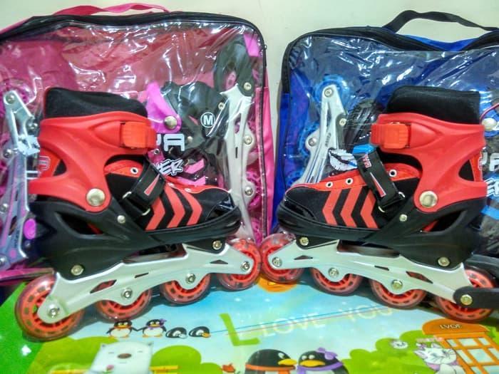 HOT SPESIAL!!! Sepatu Roda Anak Inline Skate merek Power Sofiya size M - PJv7K4