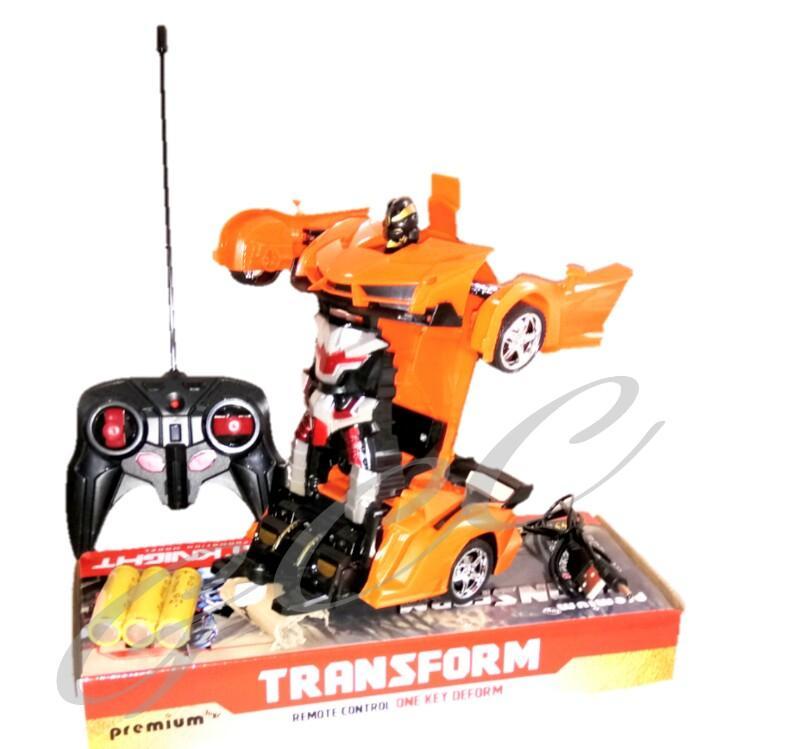 Mainan Anak Anak Mobil Jadi Robot Mainan Mobil Remot Control RC