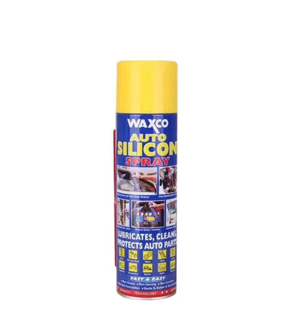 Waxco Auto Silicon Spray - Cairan Perawatan Fan Belt & V-Belt Mobil & Motor Matic - Cairan Pelumas, Penetrant, Pembersih Serbaguna Sejenis WD-40