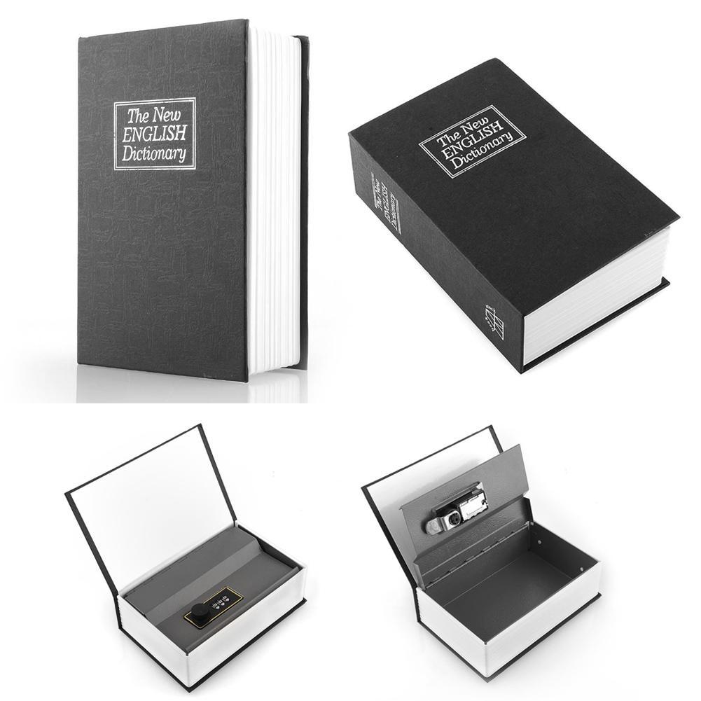 Lemari Besi Terbaik Termurah Book Safe Buku Brankas Kecil 2018 New Digital Lock Black Dictionary Secret Hidden Home Box S