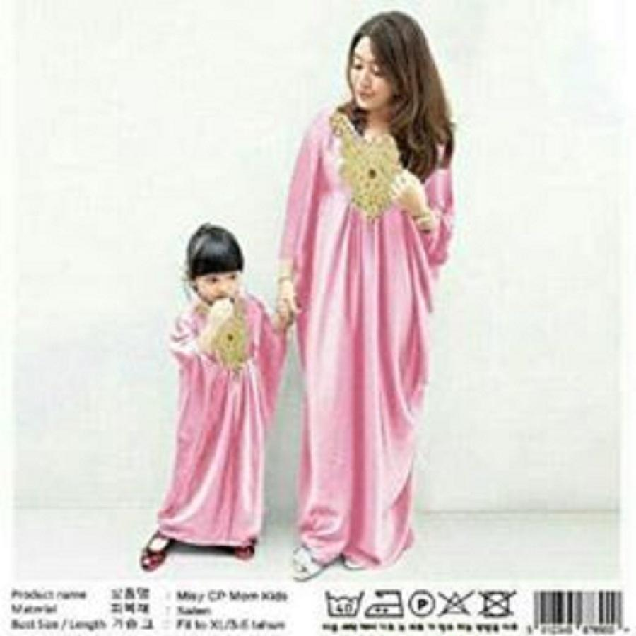 COUPLELOVER-COUPLE CP MK ELLEN COUPLE FAMILY  IBU & ANAK  MUSLIM COUPLE  BAJU FASHION MUSLIM WEAR MAXI KAFTAN