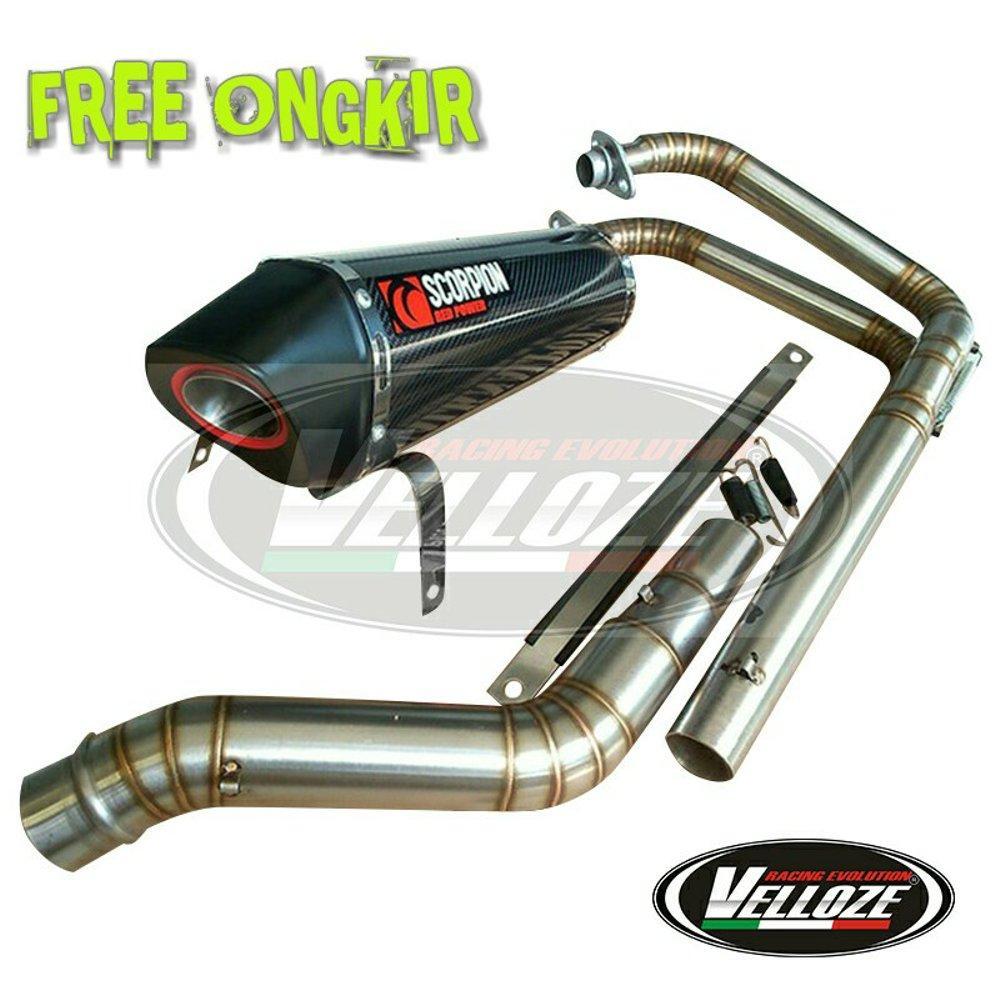Buy Sell Cheapest Knalpot Mt25 R25 Best Quality Product Deals R9 Full System New Mugello Black Cb 150 R Cb150r Facelift Streetfire Cbr150 Ninja 250 Z250 Cbr250rr Rr Mono Scorpion Red Power Karbon