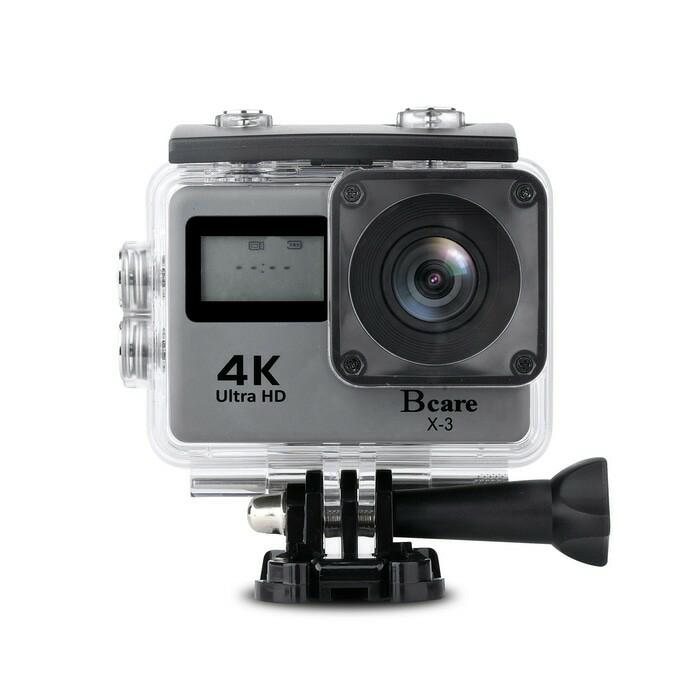 B CARE B CAM X3 ACTION CAMERA WIFI 16MP SONY SENSOR 4K Terlaris di Lazada