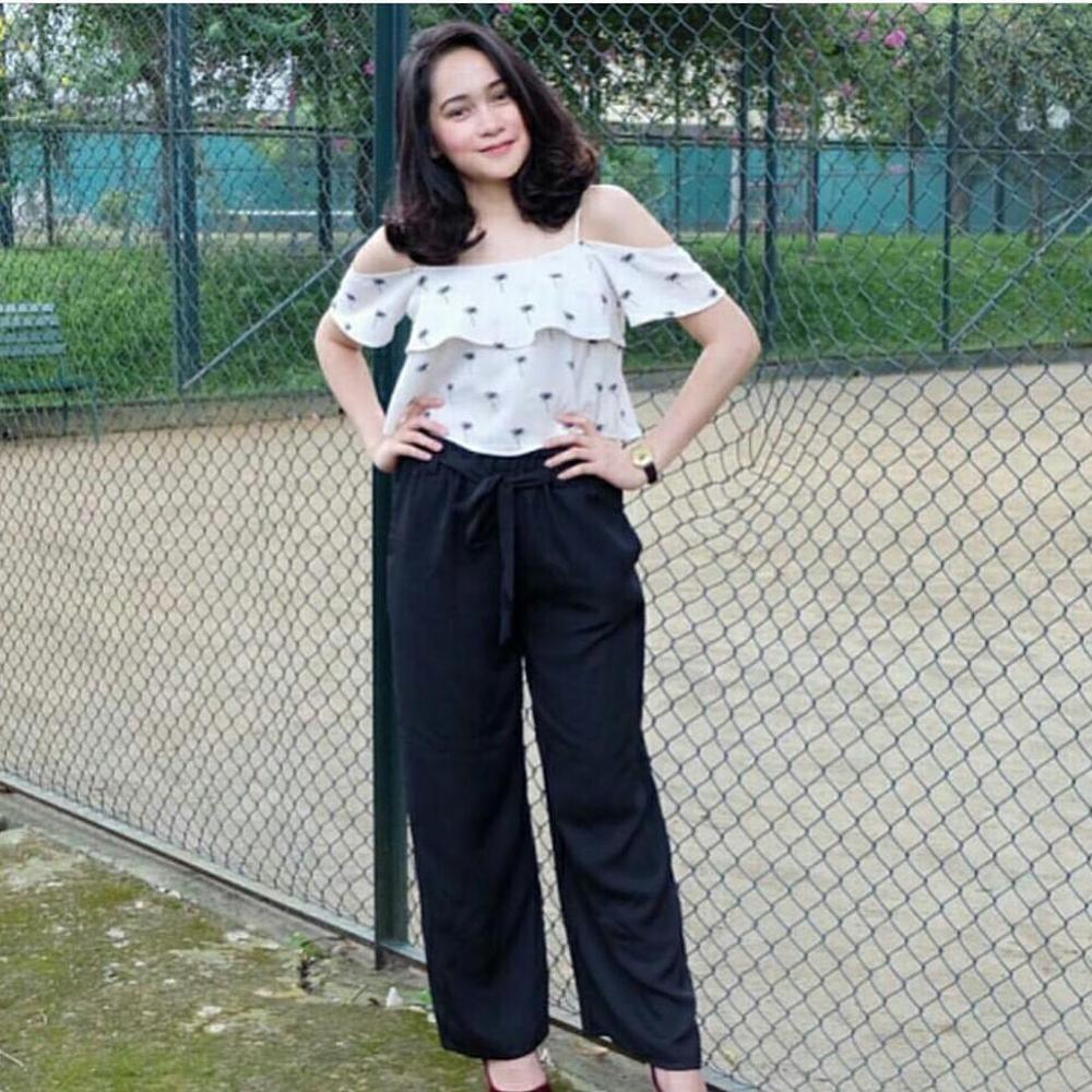 Celana Ribbon Kulot - celana kekinian celana modern Kulot Premium Kulot Wolfis