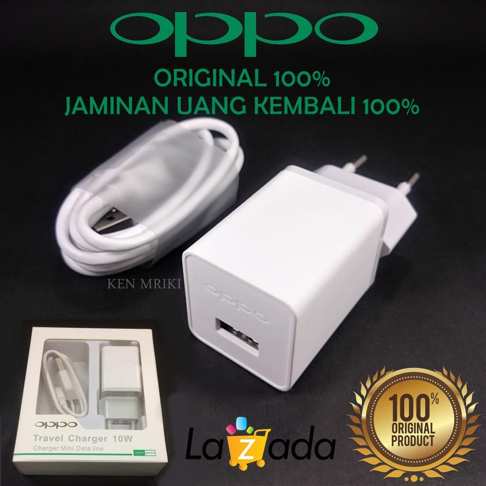OPPO Travel Charger 2A Model AK903 Micro USB Cable Compatible OPPO A37 / F1 / F1S / F3 / F5 ORIGINAL 100%