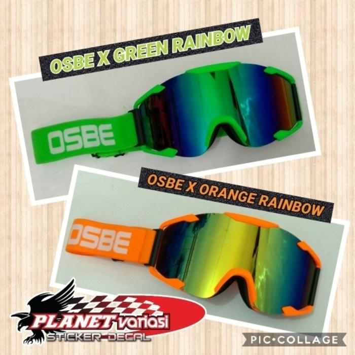 Google kacamata Cross Trail Osbe X rainbow ,no ktm thor snail