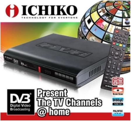 Decoder TV Digital DVB T2