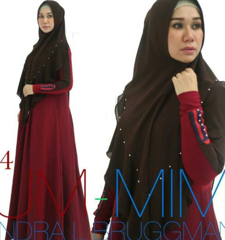 Rp 560.000. Gamis LUCIA CASUAL UMMIMI BY INDRA L ...