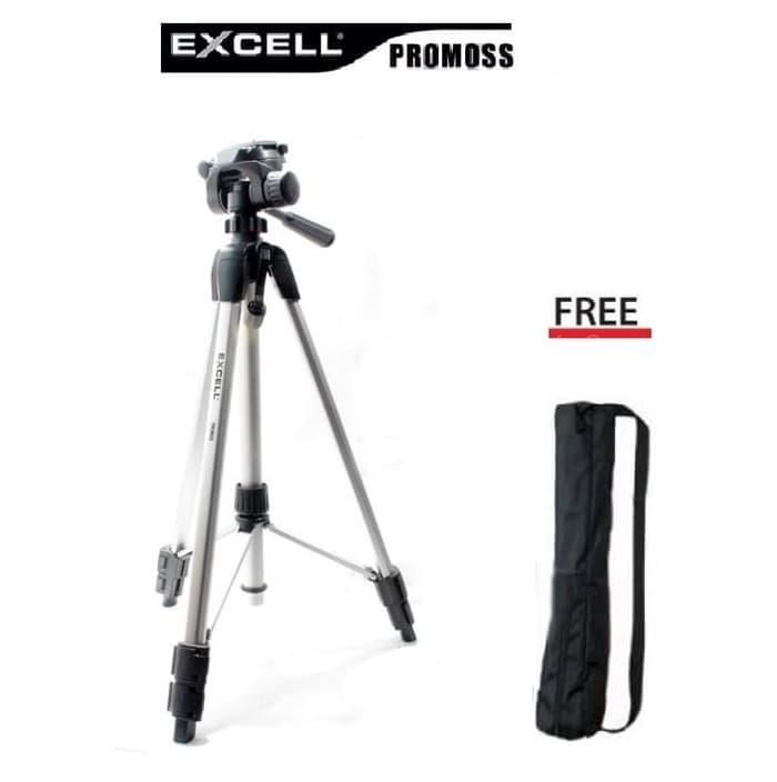 Promo: Tripod Excel Promos Excell Promoss Camera Dslr & Handycam Murah - ready stock