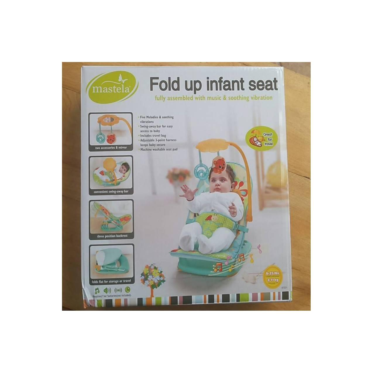 ... Melodies And Soothing Vibrations -. Source · kursi santai bayi murah. Source · Fold Up Infant Seat Mastela .