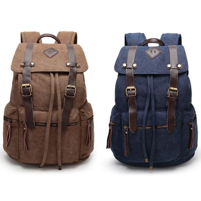 Tas Pria-Tas Ransel Kulit Pria -Backpack-Tas Travel-Gahar-tr000560