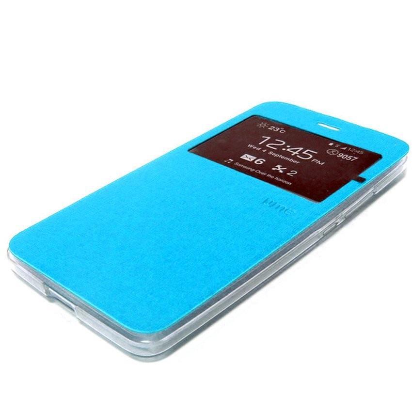 Aimi ume sarung dompet Samsung G313H ACE4 Flipshell Sarung Case sarung buku samsung ace 4 - biru